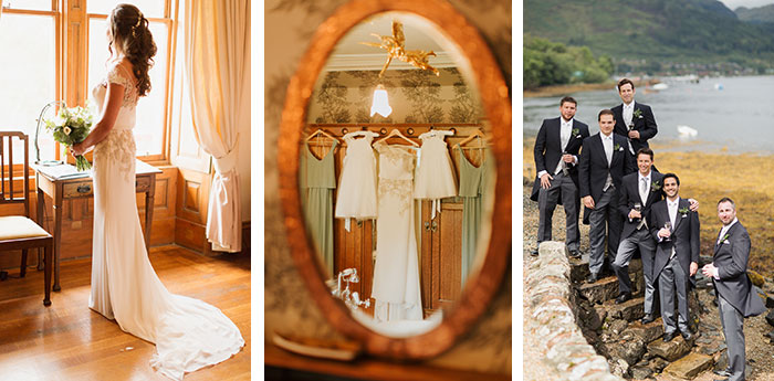 dream wedding collage