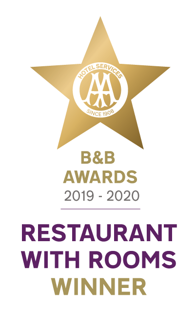 AA Restaurant with Rooms of the Year 2019-20